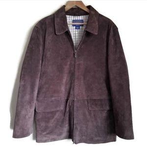 pendleton VINTAGE suede field jacket brown